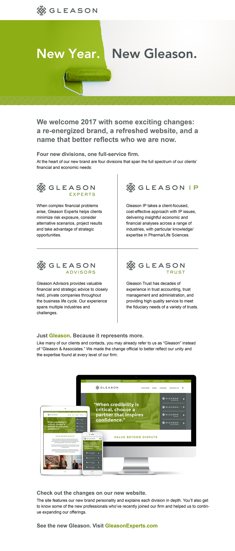 Gleason Brand Email